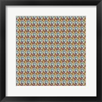 Framed So Hexy Flower Pattern