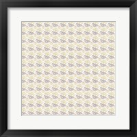 Framed So Hexy Tan Pattern