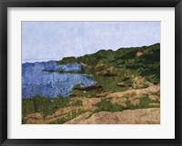 Framed Rocky Shore
