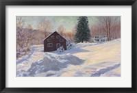 Framed From My Studio In Winter