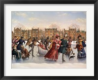 Framed Victorian Skaters
