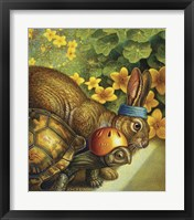 Framed Tortoise And Hare