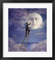 Framed Man With Moon
