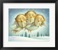 Framed Angel Choir