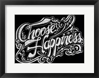 Framed Choose Hapiness