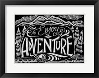Framed Enjoy The Adventure