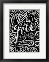Framed Love Conquers All