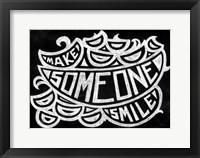 Framed Make Someone Smile