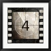 Framed Vintage Countdown IV