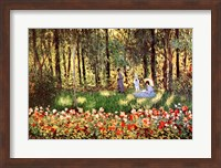 Framed Family in Garden, Argenteuil