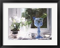 Framed Il Calice Blu