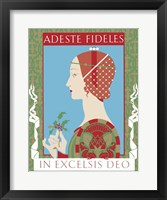 Framed Adeste Fidelis