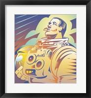 Framed Astronaut