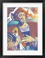 Framed Christopher Columbus