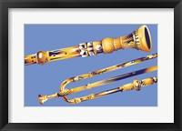 Framed Old Instruments