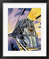 Framed Pioneer Zephyr