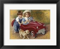 Framed 1951 Murray Champion Dipside