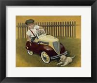 Framed 1937 Steelcraft Dodge