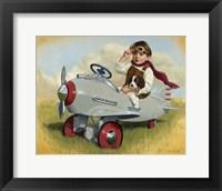 Framed 1941 Steelcraft Pursuit Plane