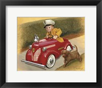 Framed 1937 Garton Ford Fire Chief