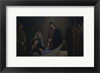 Framed Jesus Raising The Daughter Of Jairus