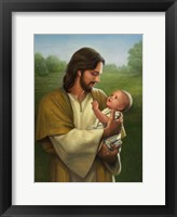 Framed Jesus And Baby