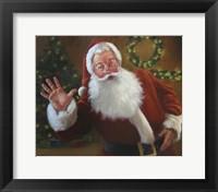 Framed Santa Greeting