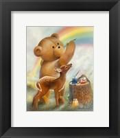Framed Over the Rainbow