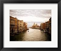 Framed Venetian Canals I