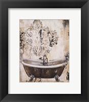 Framed Bronze Bath I