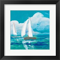 Framed Regatta Winds II