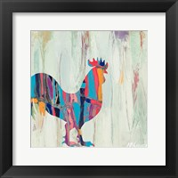 Framed Bright Rhizome Rooster