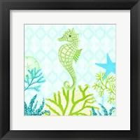 Framed Seahorse Reef II