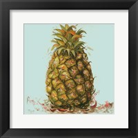 Framed Contempo Pineapple Square II