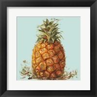 Framed Contempo Pineapple Square I