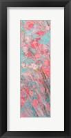 Framed Apple Blossoms Panel II