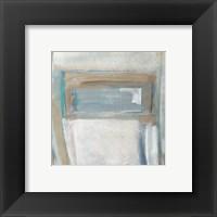 Framed Grey Squares I