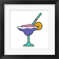 Framed Tropical Drinks I