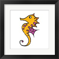 Framed Whimsical Sea Creatures IV