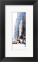 Framed City Life Panel II