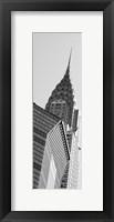 Framed NYC Scene Panel II