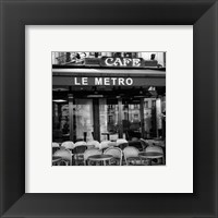 Framed Paris Scene II