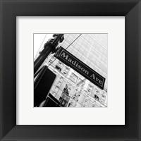 Framed NYC Scene IV