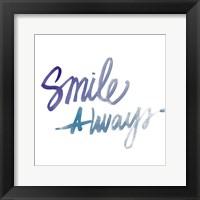 Framed Smile Always
