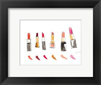 Framed Water Color Make Up I