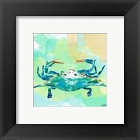 Framed Watercolor Sea Creatures I