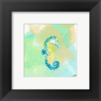 Framed Watercolor Sea Creatures III