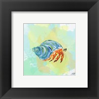 Framed Watercolor Sea Creatures II