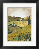 Framed Tuscany