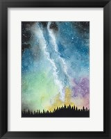 Framed Magical Night Sky